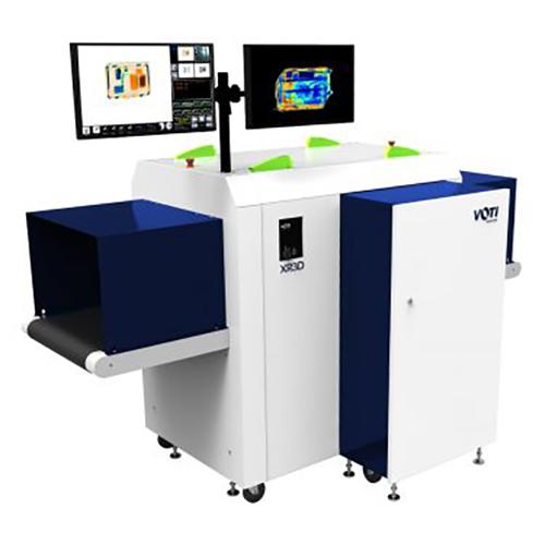 XR3D-6D Escáner de Rayos X